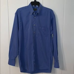 Gitman Brothers blue cotton shirt